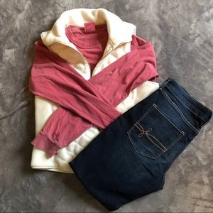 NWOT Abercrombie & Fitch white vest